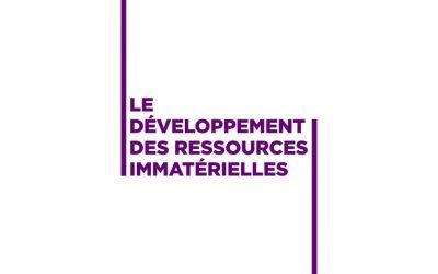 Le développement des ressources immatérielles